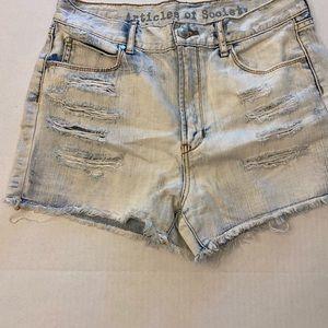 Articles of Society shorts.